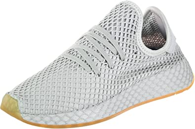 brand new d1ffe 577a2 adidas Originals Deerupt Runner J Grey One Textile 4 M US Big Kid