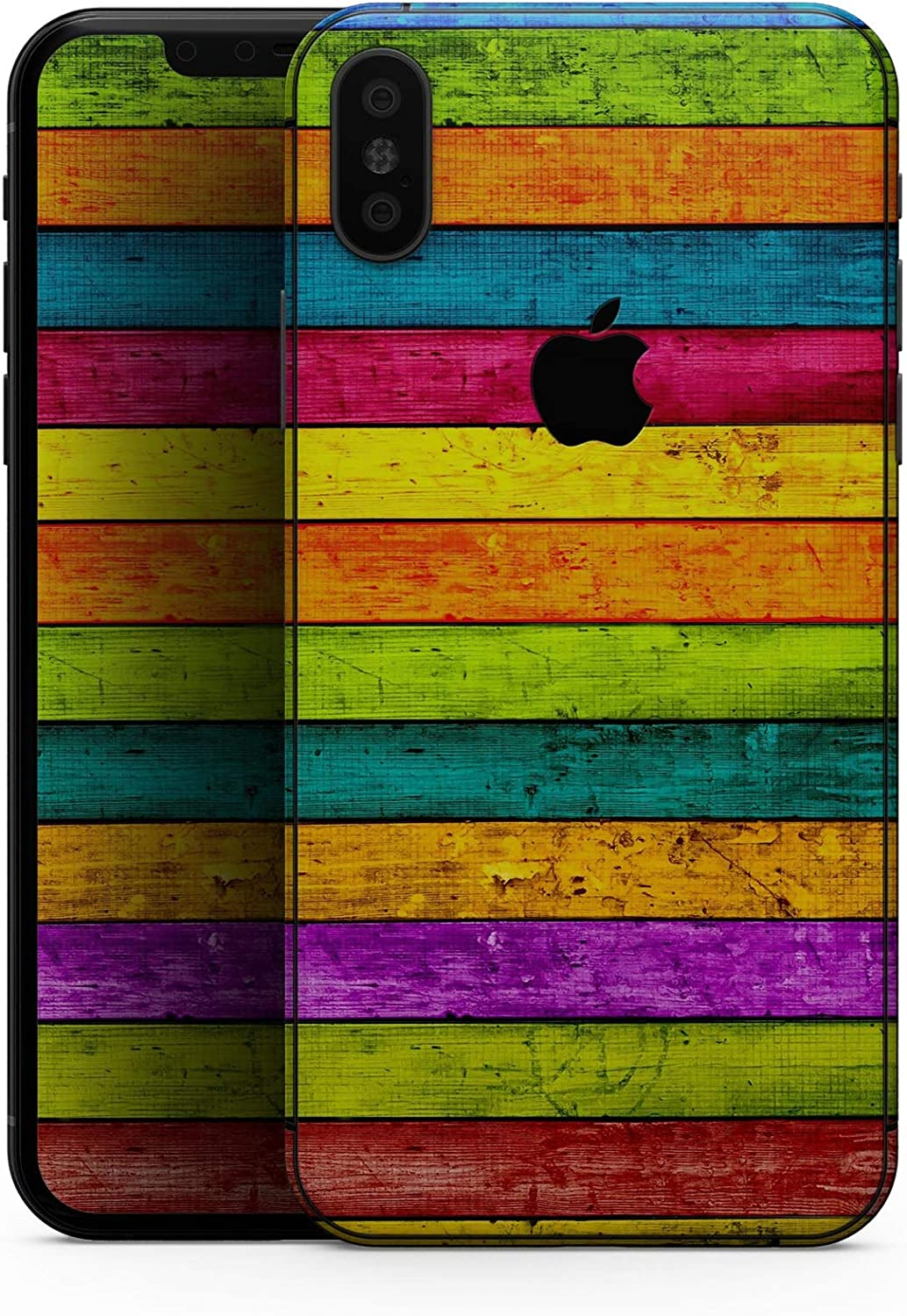 Neon Wood Planks - Design Skinz Premium Skin Decal Wrap for The iPhone 5s or SE