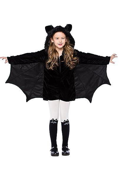 Amazon.com: Doxishruky disfraz de murciélago negro para ...