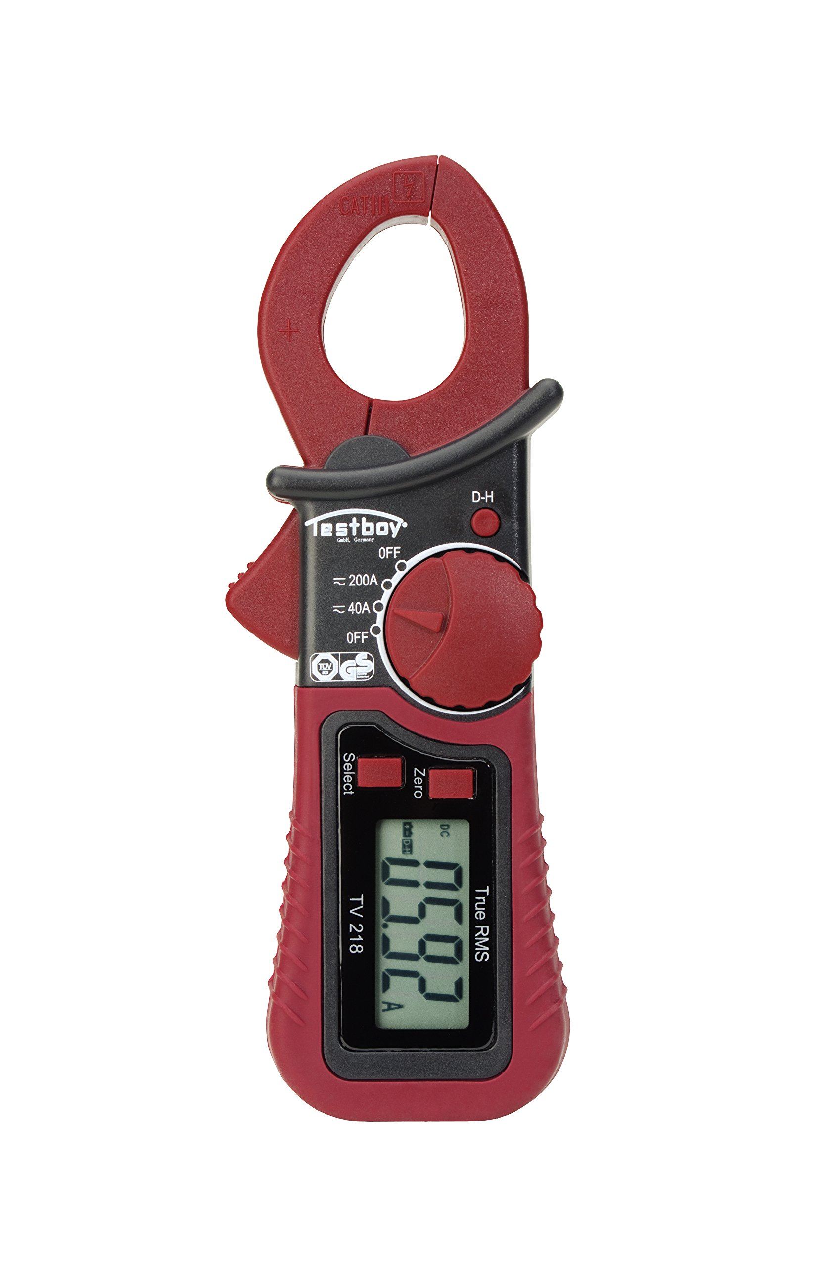 Testboy Testboy TV 218 Digitales Miniatur-Zangenparameter Testboy TV 218, inklusive Tasche product image