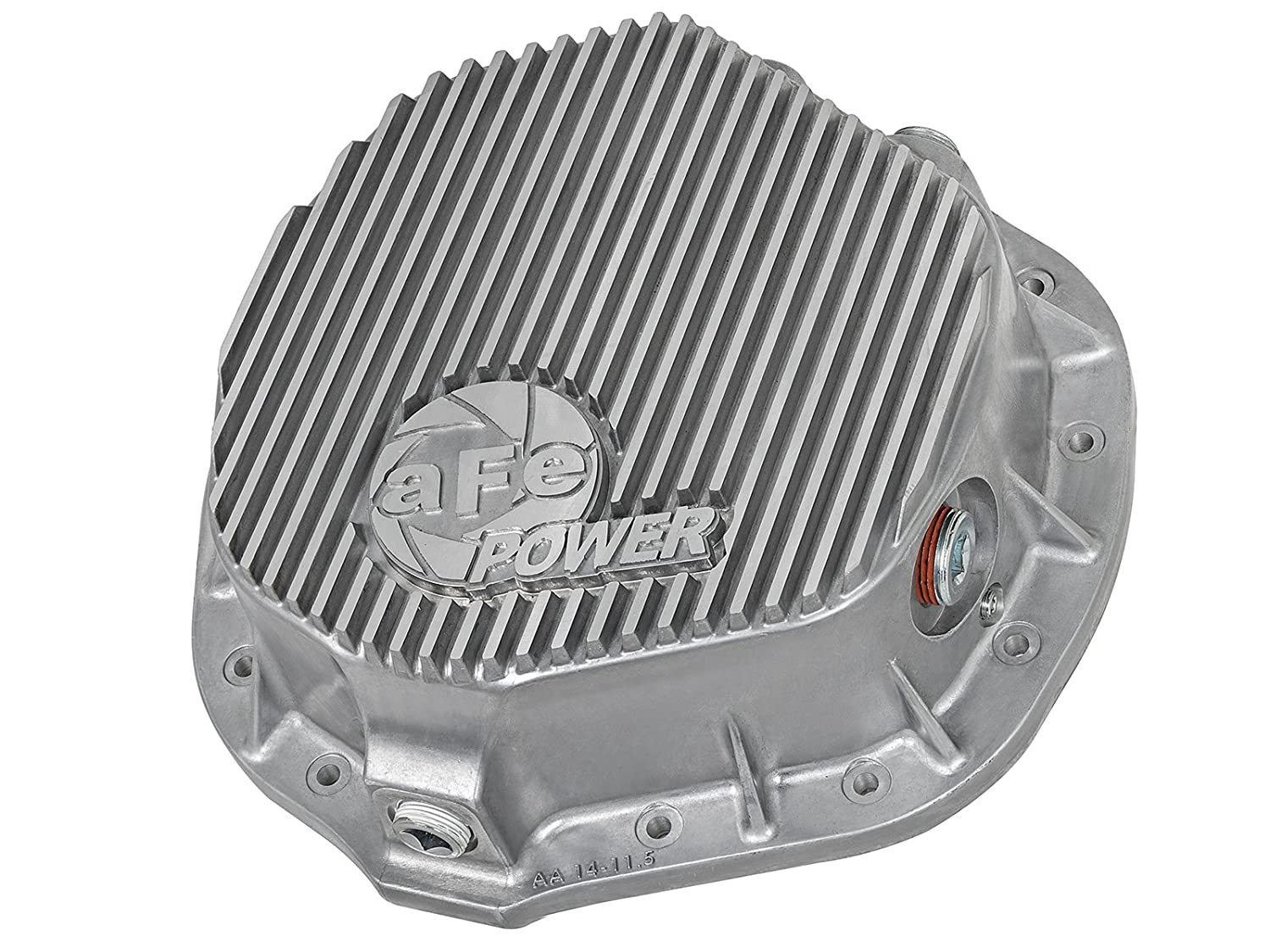aFe Power 46-70010 Dodge and GM Diesel Rear Differential Cover Raw; Street Series