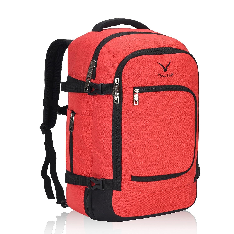 [ハインズイーグル] Hynes Eagle バックパック アウトドア リュックサック3way 大容量 旅行 出張 40L B078719PZ9 赤色40L 赤色40L