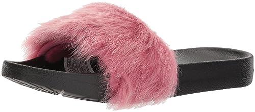 cbdfd58a329 UGG Royale Tipped Enamel Blue Slides: Amazon.co.uk: Shoes & Bags