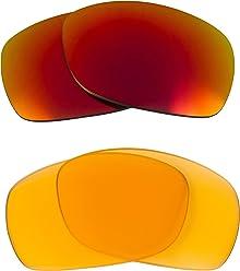 665efa2095 Sideways Replacement Lenses Hi Intensity Yellow   Ruby Red by SEEK fits  OAKLEY