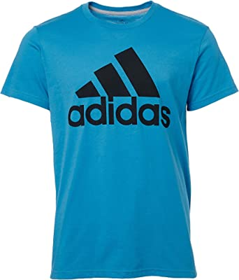 carbohidrato flojo entusiasmo  Amazon.com: Adidas Badge of Sport - Camiseta clásica para hombre, L:  Clothing