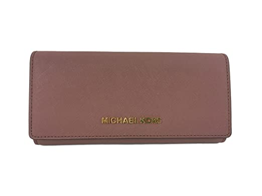 280f0f10bbd0 Image Unavailable. Image not available for. Color  Michael Kors Jet Set  travel Carryall Leather Clutch wallet ...