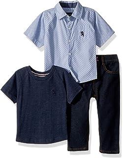 T-Shirt and Pant Set English Laundry Boys Long Sleeve More Styles