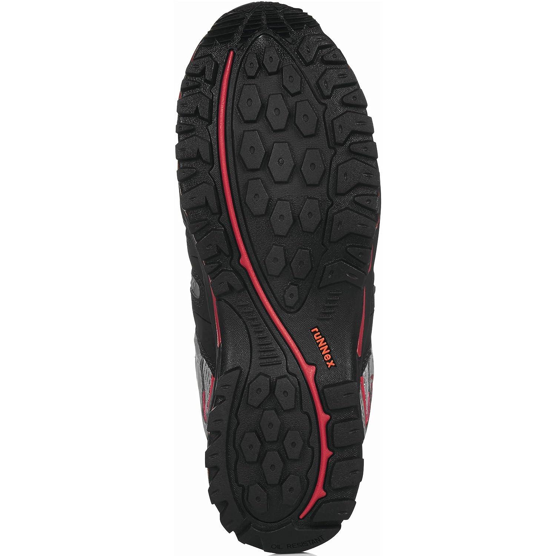 RuNNex® S1-Sicherheitshalbschuh LightStar schwarz schwarz schwarz grau rot Gr. 45 de851c