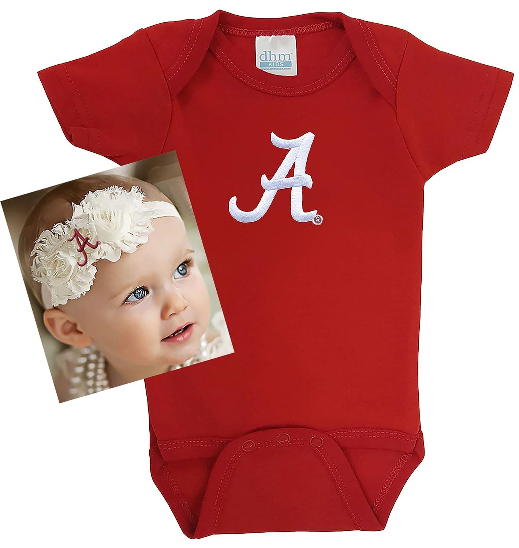 Amazon Future Tailgater Alabama Crimson Tide Baby esie and
