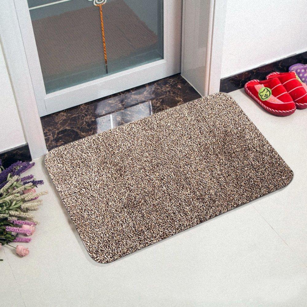 Amazon doormats outdoor dcor patio lawn garden super absorbent doormat super absorbs mud doormat latex backing non slip door mat floor kristyandbryce Images