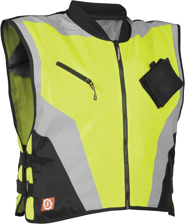 Dayglo Medium//Large Firstgear Military Spec Vest
