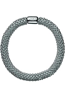 LINKS OF LONDON Sterling Silver Essentials 6 Row Chain Bracelet 18cm/7