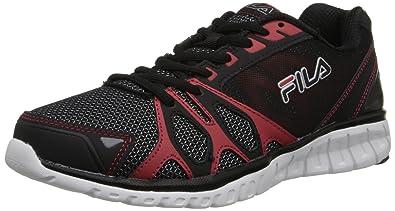 l'ombre de la la la fila hommes noir - rouge - sprinter chaussure de course, af897c