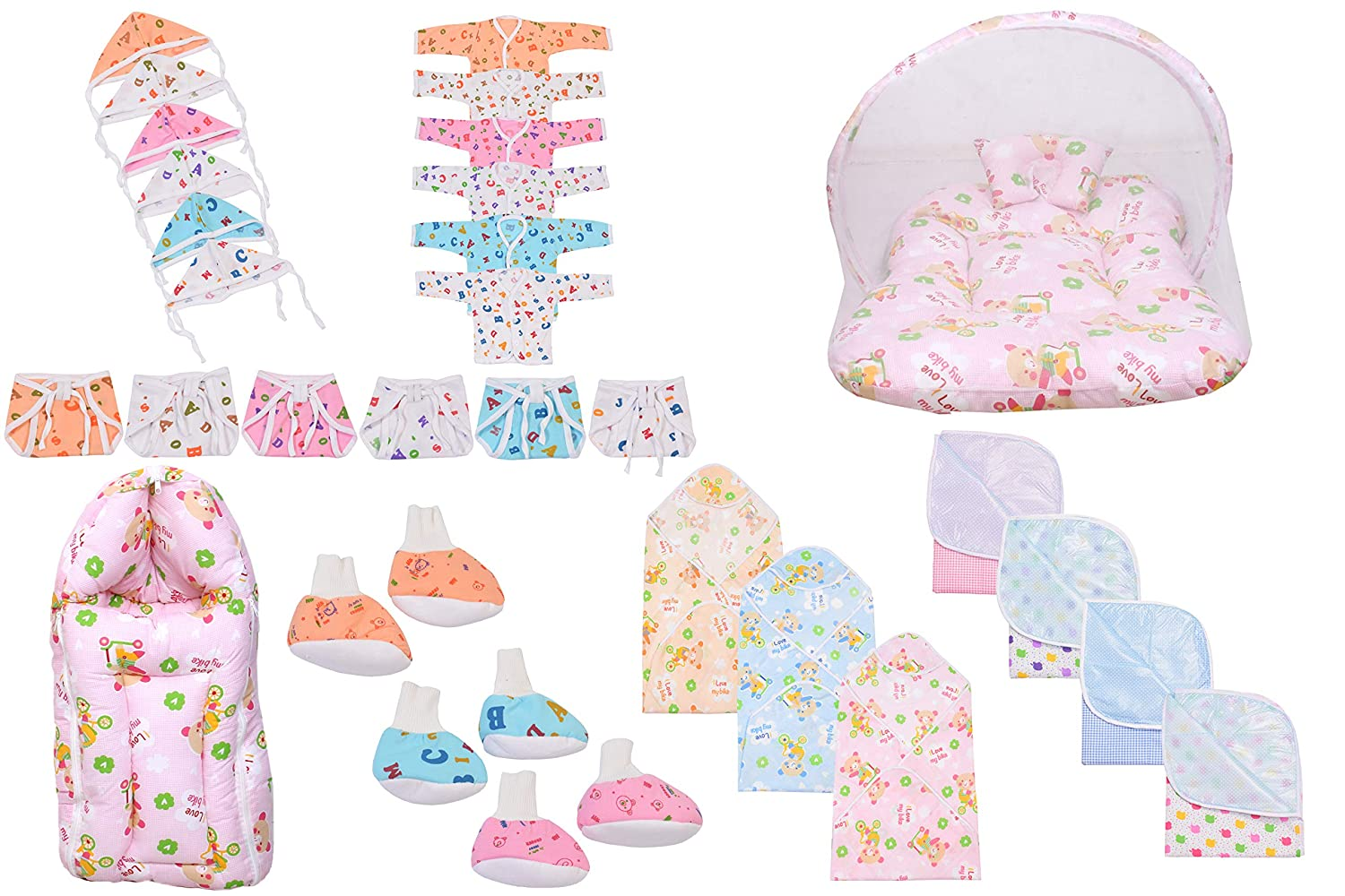Baby Fly New Born Baby Combo Gift Pack/Baby Essentials (0-6 Months)