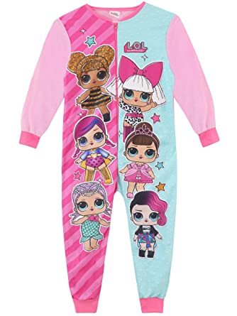 L.O.L Surprise! Girls Dolls Onesie Size 5 Multicolored