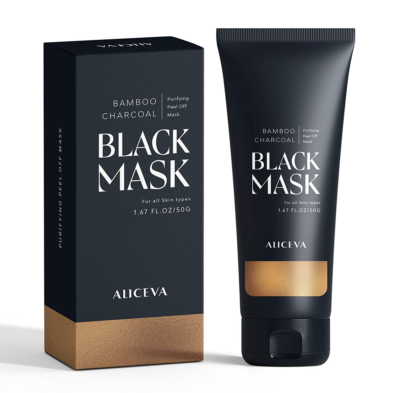Aliceva Bamboo Charcoal Face Mask For All Skin Types - 50g TT-DL05