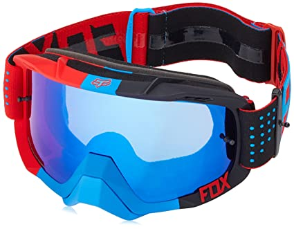 aliexpress classic fit arrives Fox Racing Air Defence Unisex Motocross Motorcycle Goggles Eyewear - Libra  Blue-Red/Blue Spark/No Size