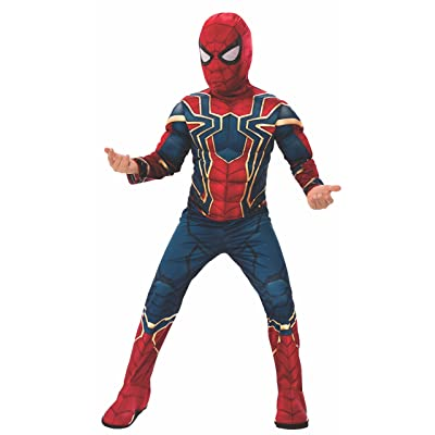 Rubie's Marvel Avengers: Infinity War Deluxe Iron Spider Child's Costume, Medium: Toys & Games