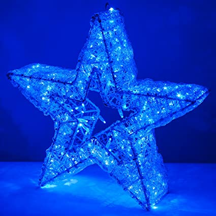 wintergreen lighting 3d led giant christmas star christmas outdoor decoration outdoor christmas led star