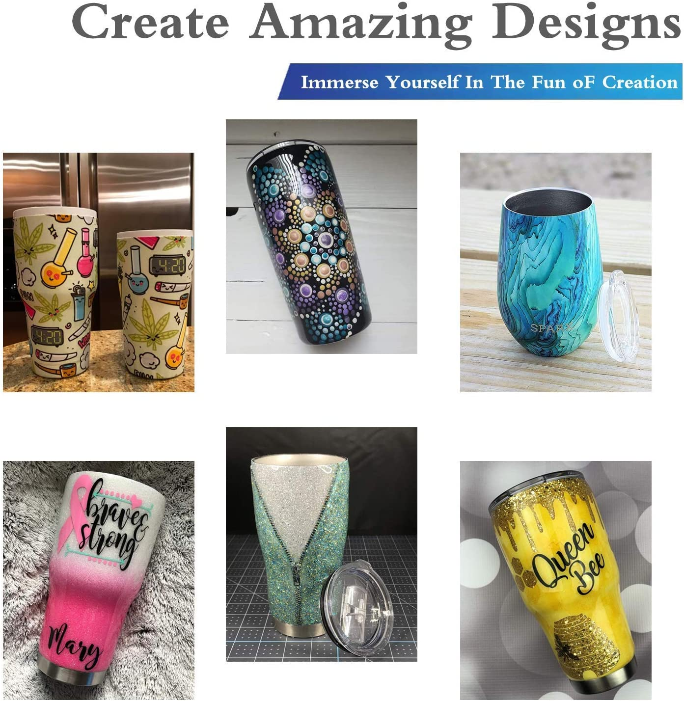 Cup Turner for Crafts Tumblers DIY Assemble Electric Cup Spinner Machine,CW//CCW Supported Cuptisserie Kit for Making Glitter Resin Epoxy Tumblers