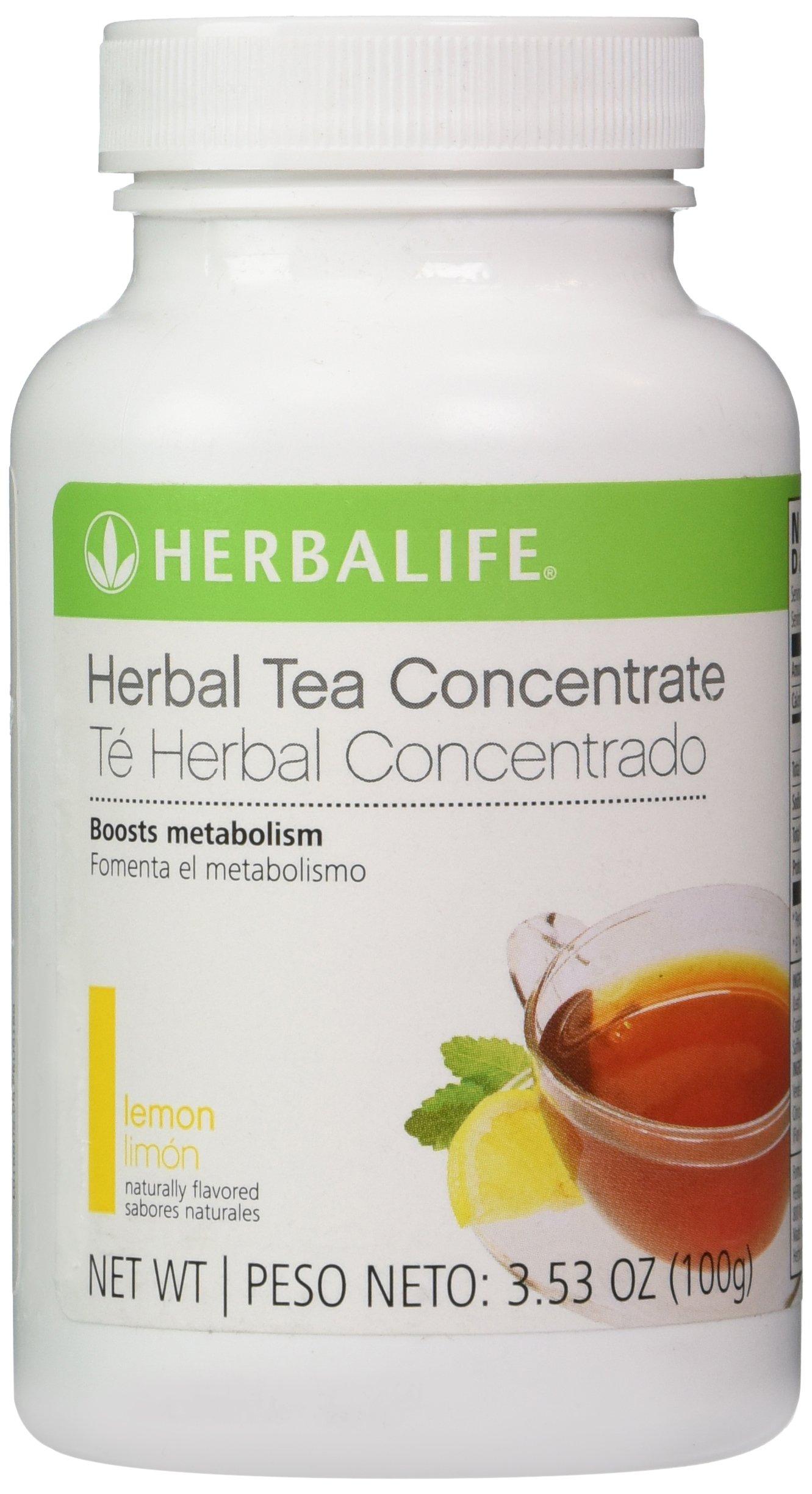 Herbalife Herbal Tea Concentrate Lemon 3.53Oz by Herbalife
