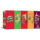 Pringles Potato Crisps Chips, Flavored 15 Count Variety Pack, 20.6 oz