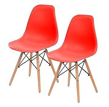 Fantastisch IRIS USA, Inc. Iris Bis Mitte Des Jahrhunderts Modern Shell Stuhl Mit Holz  Eiffelturm