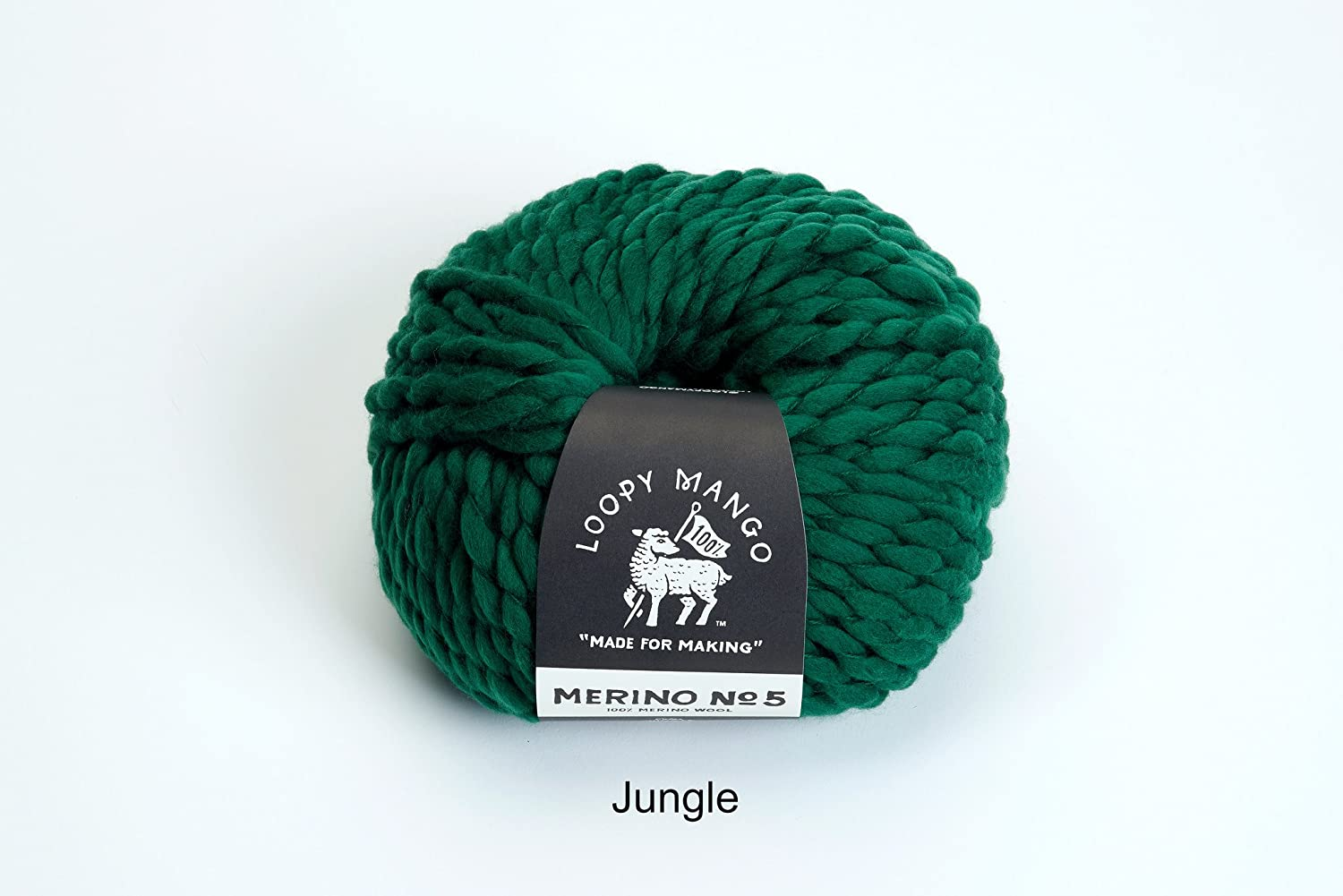 My First Hat Jungle Loopy Mango DIY All You Knit Kit