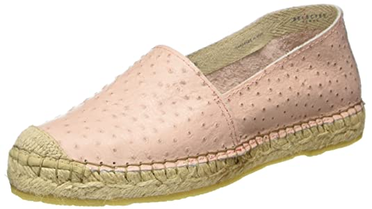 Selected Femme Sfmarley Ostrich Espadrilles, Alpargatas para Mujer, Rosa (Heavenly Pink), 38 EU Selected