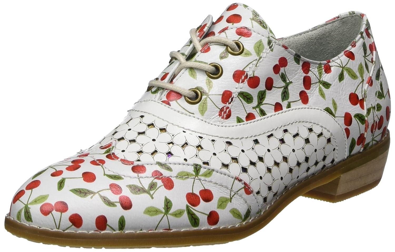 Laura Vita Claudie 10, Zapatos de Cordones Oxford para Mujer 39 EU Blanco (Blanc Blanc)
