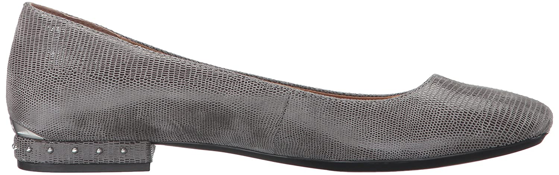 Calvin Klein Women's Fridelle Ballet Flat Grey B01DXPV9B2 8.5 B(M) US|Shadow Grey Flat 101533