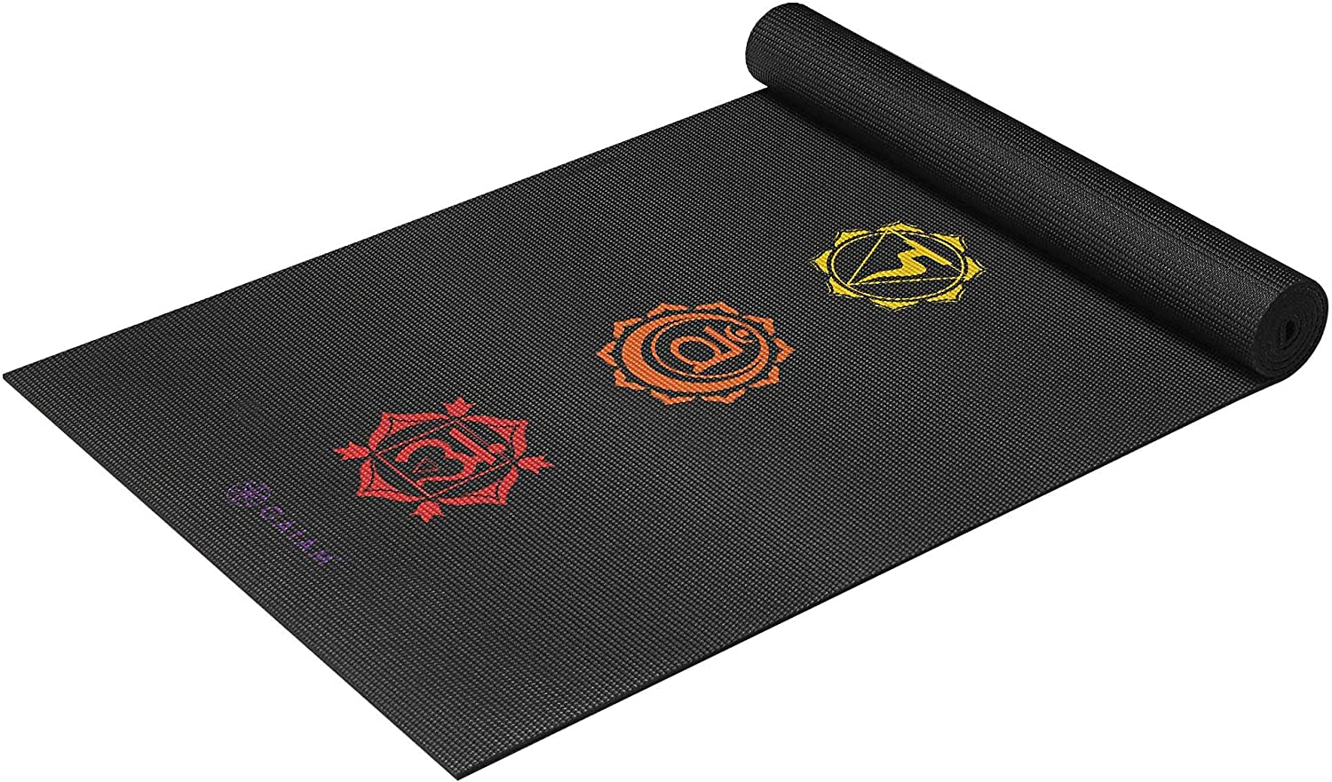 Gaiam Yoga Mat - Premium 6mm Print Extra Thick Non Slip Exercise & Fitness Mat for All Types of Yoga, Pilates & Floor Workouts (68