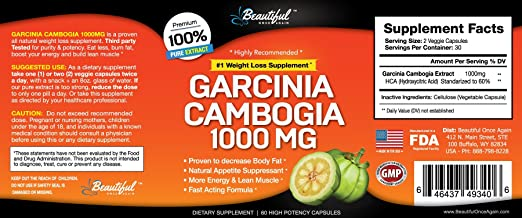 How much garcinia cambogia should be taken daily photo 3