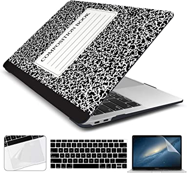13inch Macbook Air Slim Soft Carrying Bag with Rubberized Case Keyboard Film