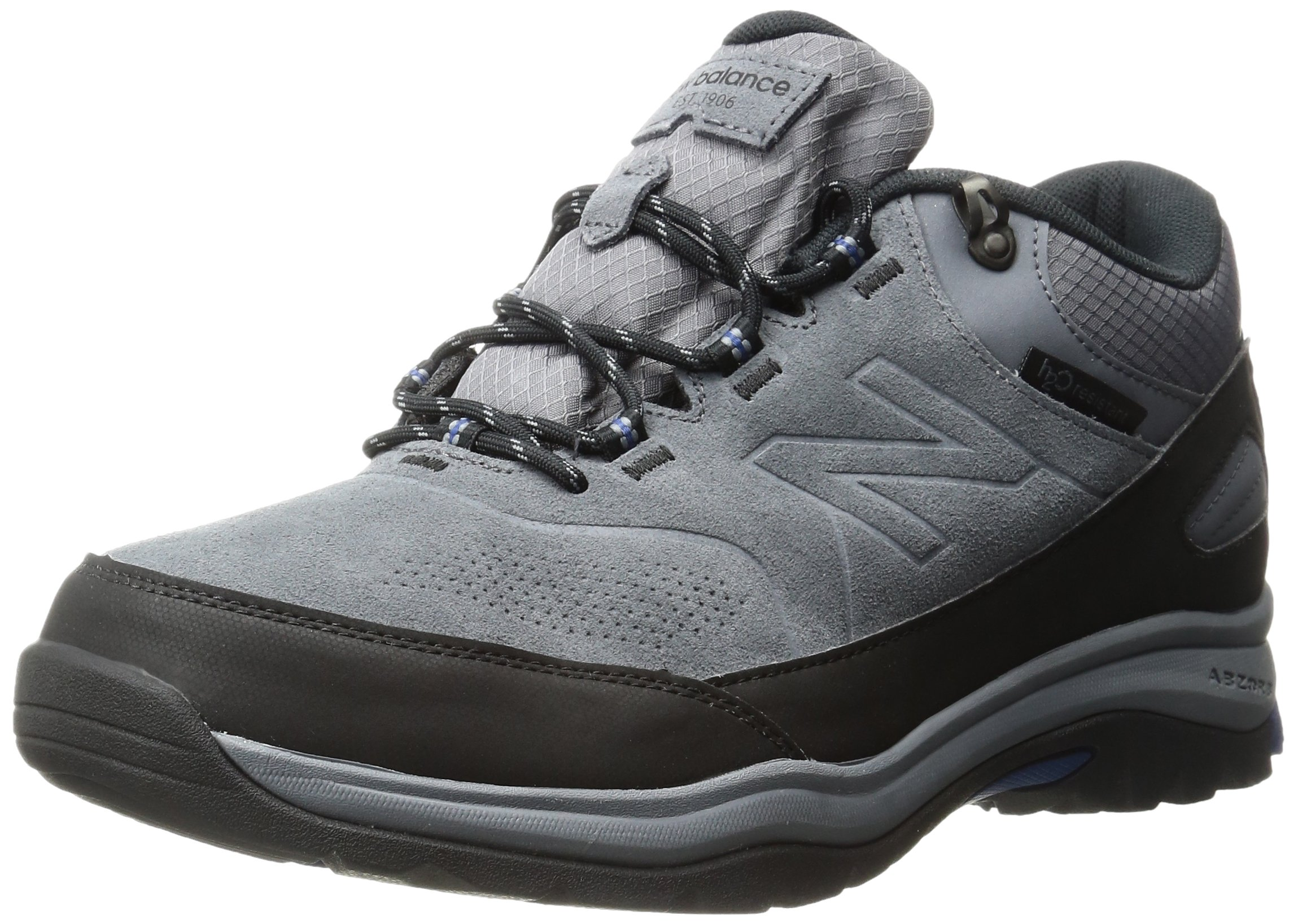 New Balance Men's 779v1 Trail Walking Shoe, Grey/Black, 11.5 D US
