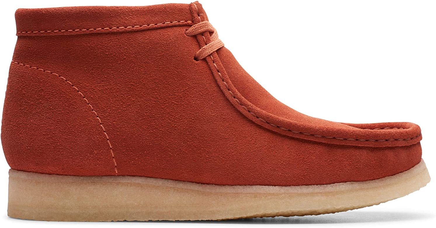 utterly stylish good selling fashion styles Amazon.com | CLARKS Men's Wallabee Boot Chukka, Burnt Orange ...