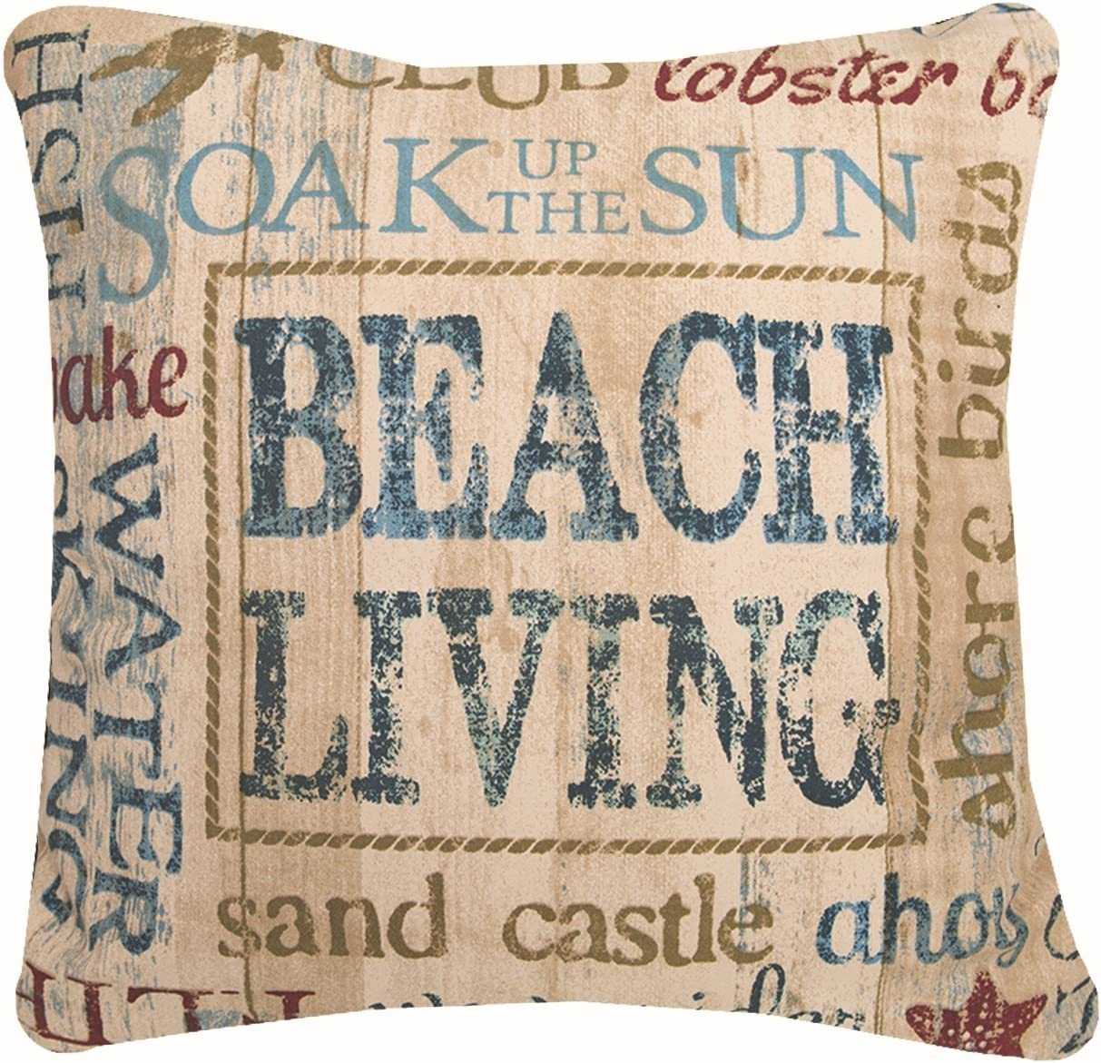 Heritage Lace Beach Living 18 x18 Pillow