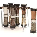 Modernhome 6-Piece Hourglass Spice Rack Set