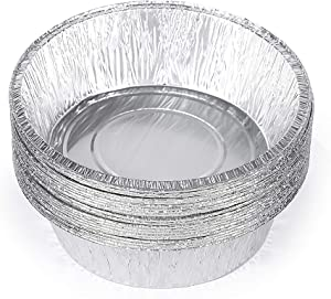 Replace parts 10-Inch Aluminum Dutch Oven Liner Pans Cake Pan and Extra Deep Aluminum Foil Pans for Baking and Camping,Set of 20