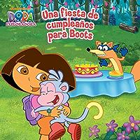 Una fiesta de cumpleaños para Boots (Dora la Exploradora) (Spanish Edition) book cover
