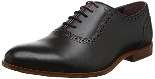 Ted Baker Murain, Zapatos de Cordones Derby para Hombre, Negro (Black), 45 EU amazon-shoes Cordones
