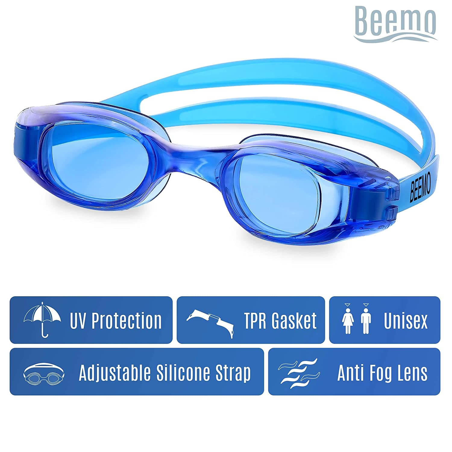 4297e51d871 Swimming Goggles for Kids and Early Teens  (ages 7-12 ) - Universal ...