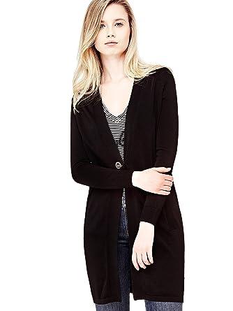 b0db3f98402 Guess Cardigan Femme Edith Noir - Taille - XS  Amazon.fr  Vêtements ...