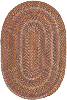 product image for Colonial Mills Rustica Multi 4' x 6' Oval Area Rugs - RU70R048X072