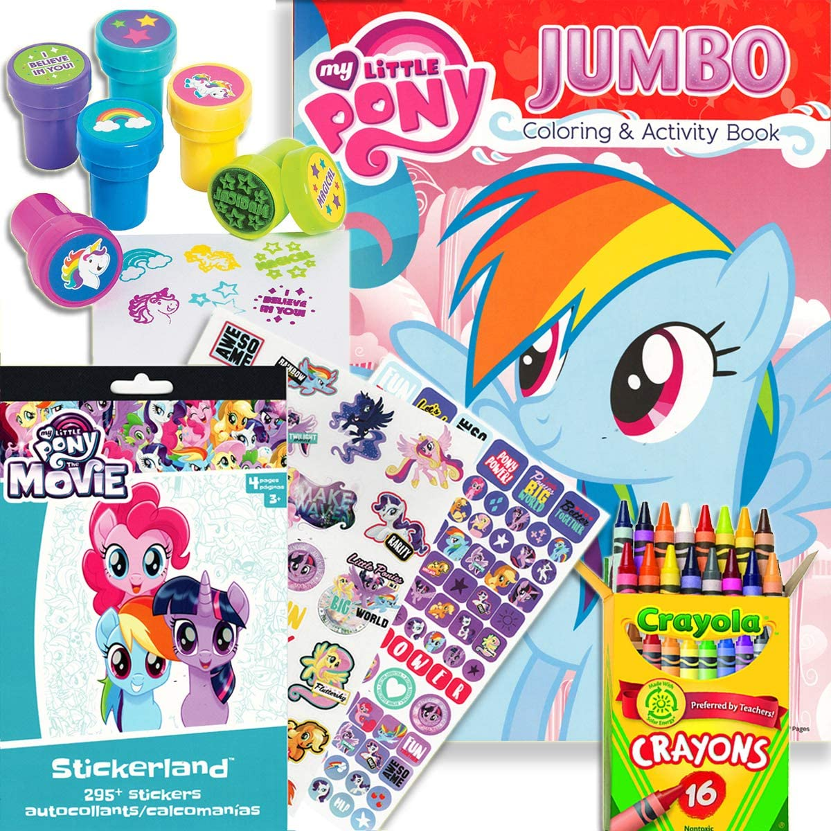 - Amazon.com: My Little Pony Coloring & Activity Book With MLP The