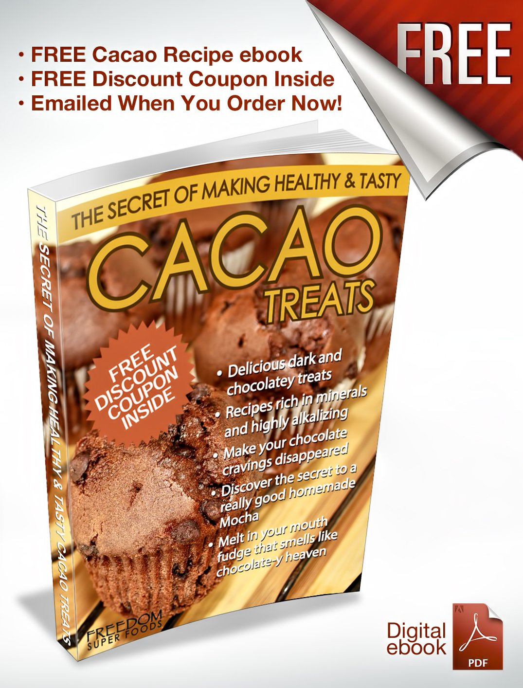 Amazon.com : Organic Raw Cacao Powder - Best Dark Chocolate Taste ...