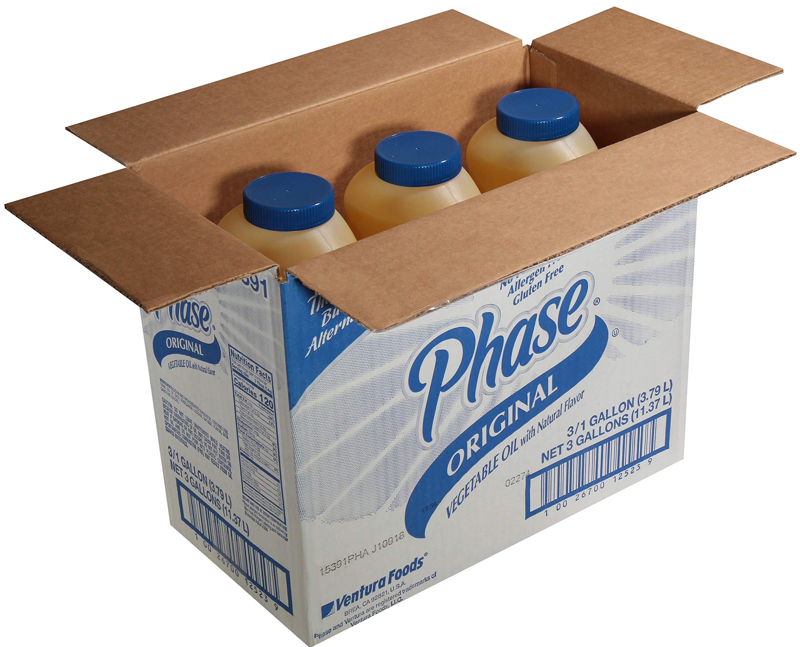 Ventura Foods Phase Trans Fat Free Liquid Butter Alternative, 1 Gallon -- 3 per case. by Ventura Foods (Image #1)