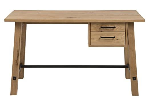 AC Design Furniture Vanessa Escritorio, Madera, Haya, B: 130 x T ...