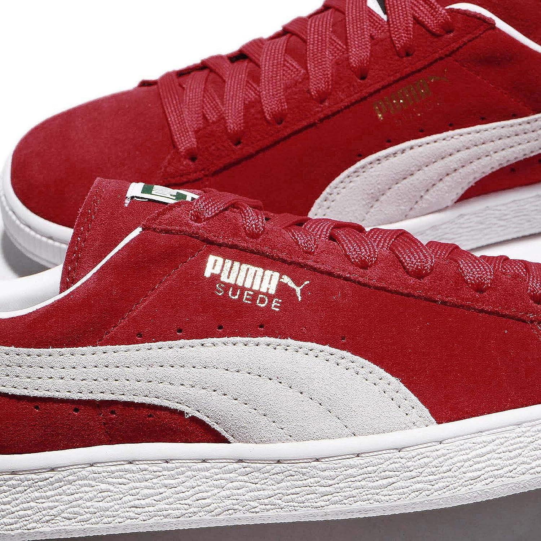 Puma Scarpe Suede Classic Unisex – Adulto, Rosso (Red White), 37.5 EU