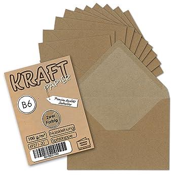Docrafts Papermania Kraftpapier 280g 25 St/ück DIN A4